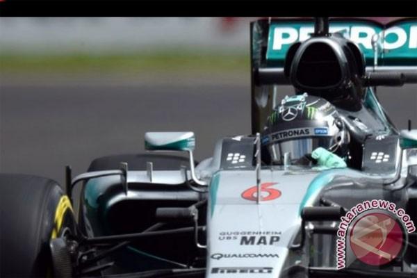 Rosberg juarai Grand Prix Meksiko
