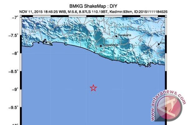 Gempa kejutkan warga Jateng bagian selatan 03ffe74b64