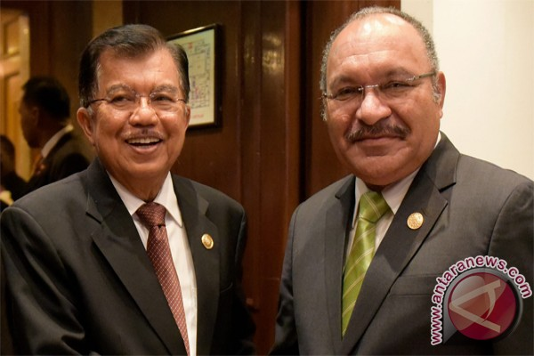 Indonesia-Papua New Guinea enhance relations: VP Kalla