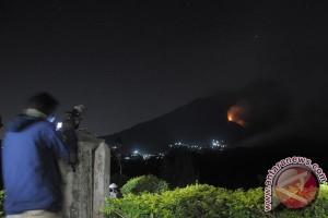 Luas Kebakaran Gunung Merapi