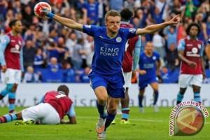 Vardy perpanjang kontrak dengan Leicester sampai 2019