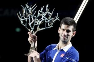 Djokovic atasi Murray untuk juarai Paris Masters