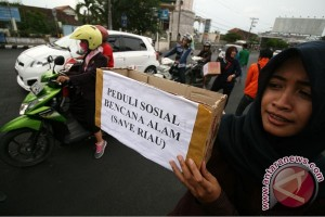 Peduli Kebakaran Hutan Riau