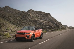 """Land Rover hadirkan Evoque versi """"topless"""""""