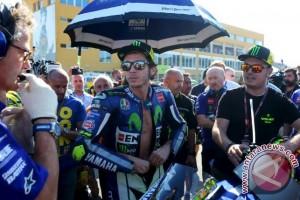 Rossi jalani pemulihan setelah kecelakaan motocross