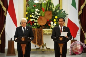 Indonesia-Italia tandatangani kontrak senilai 1,055 miliar dolar AS