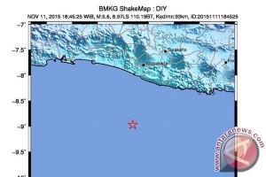 BPBD Yogyakarta : belum ada laporan kerusakan akibat gempa