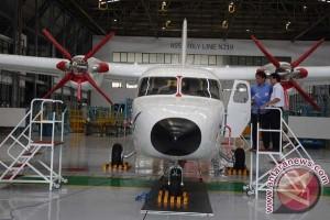Pesawat N219 tampil perdana di Bandung