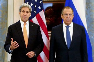 Menlu AS dan Rusia rundingkan Suriah di Moskow