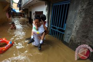 BPBD: banjir rendam 20 RW di Jakarta