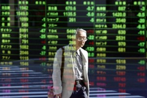 Indeks bursa saham Tokyo dibuka turun karena yen menguat