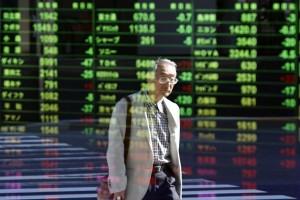 Bursa saham Tokyo anjlok tajam lebih dari lima persen