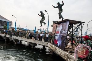 TNI AL gelar lomba halang-rintang untuk perwira menengah