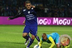 Arema raih kemenangan kedua di Piala Sudirman