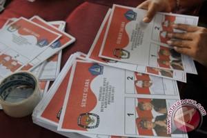 Sejumlah kabupaten sudah lipat surat suara Pilkada serentak