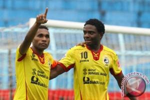 Sriwijaya FC libas Madura United 5-0