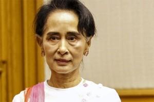 Aung San Suu Kyi urung ke Indonesia gara-gara demo Rohingya