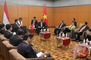 Presiden Jokowi berharap arus perdagangan RI-Vietnam meningkat