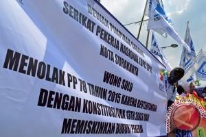 Buruh Jawa Barat tolak upah murah
