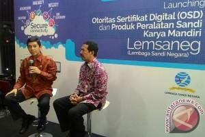 Lembaga Sandi Negara luncurkan Otoritas Sertifilasi Digital
