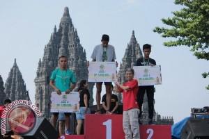 3.000 orang ikuti lomba lari wisata keliling lima candi Prambanan