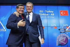 "Komisi Uni Eropa sebut kesepakatan Turki ""hentikan luapan pengungsi"""