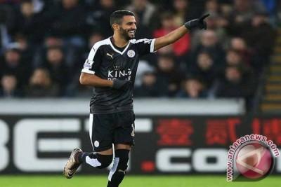 Agen ragukan masa depan Mahrez di Leicester