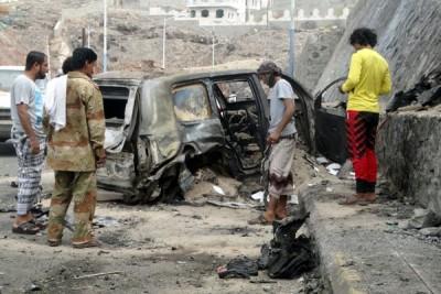 Serangan bom bunuh diri ISIS renggut 41 korban jiwa di Yaman