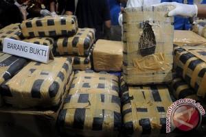 BNNK Sukabumi kembali sita truk diduga memuat ganja