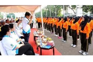 Wapres buka puncak acara hari peringatan HKN ke-51 di Silang Monas