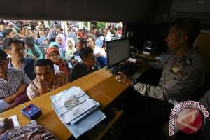 """SIM """"online"""" mudahkan birokrasi para pendatang"""