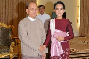 Jelang lengser, pemerintah Myanmar bebaskan tahanan politik