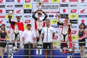 Astra Honda Racing Team raih posisi 3 tim balap terbaik