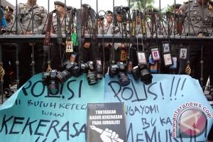 Aksi Solidaritas Untuk Wartawan