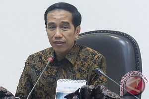 Presiden Jokowi rapat bahas masalah perbankan
