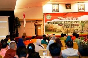 Menag Buka Workshop Kerukunan Umat Beragama