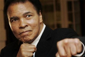 Petinju legendaris Muhammad Ali dibawa ke rumah sakit
