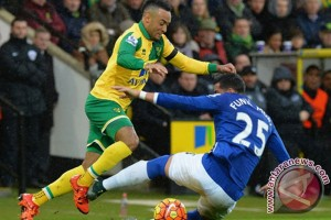 Everton angkat kaki dari Piala Liga usai ditaklukkan Norwich