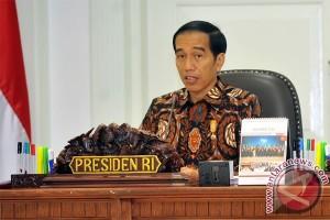 Presiden Jokowi minta sinkronisasi kebijakan pangan