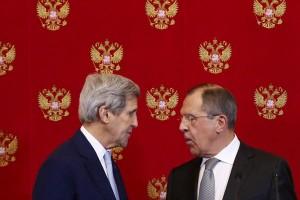 Lavrov dan Kerry bicarakan Suriah dalam percakapan telepon
