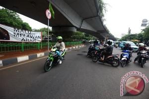 PT Jasa Raharja sosialisasikan pelarangan motor lintasi jalan layang