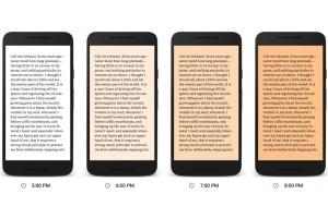 Google Play Books perkenalkan fitur Night Light
