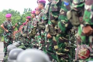 130 personel diberangkatkan ke Pulau Sebatik di Ambalat