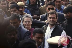 Polisi India tahan Rahul Gandhi