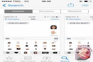 Kim Kardashian buat eror Apple app store