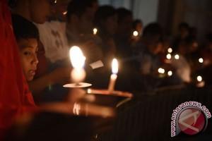 Misa Natal di Gereja Theresia digelar tiga hari