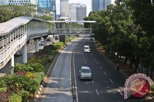 Trotoar kawasan Sudirman-Thamrin akan dilebarkan