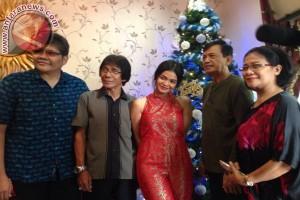 Citra Scholastika rayakan Natal bersama penggemar