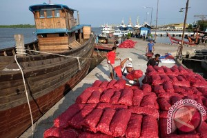 Brimob Sumut amankan 16 ton bawang merah