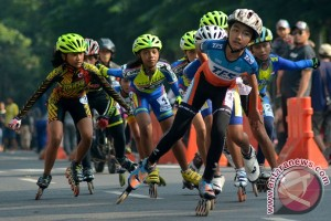 1.100 atlet ramaikan Kejuaraan Sepatu Roda Internasional di Solo
